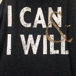 Tops - I can and I will tank top